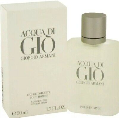 Acqua Di Gio for Men by Giorgio Armani 1.7 oz Eau de Toilette Spray New & Seal