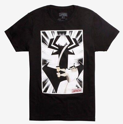 Cartoon Network Samurai Jack Jack And Aku T Shirt Nwt Licensed   Official