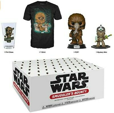 Wookie Star Wars Smuggler's Bounty Box Funko Pop SEALED IN HAND
