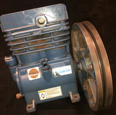 Quincy Air Compressor Pump With 12 Diameter Flywheel