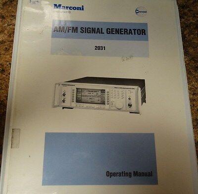Marconi Instruments Amfm Signal Generator 2031 Operating Manual