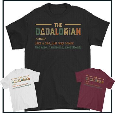 DADALORIAN T-SHIRT, Dad, Father's Day, Star Wars, Yoda, Gift, Mandalorion, TOP