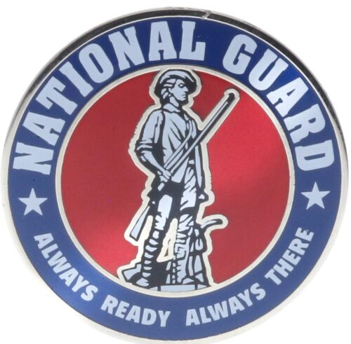 USA Army National Guard Hat or Lapel Pin PMS12 F3D31M