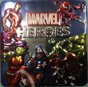Marvel Heroes Discs Sunnybank Brisbane South West Preview