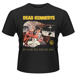 Dead-Kennedys-039-In-God-We-Trust-039-T-SHIRT-Nuevo-amp-Oficial