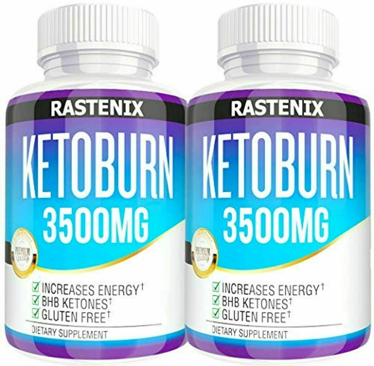 Keto Pills - 5X Potent (2-Pack | 3500MG) - Best Keto Burn Diet Pills - Boost Ene