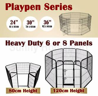 New Play Exercise Pen Enclosure Small, Dog Puppy Rabbit Cage
