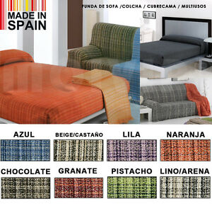 Funda de sofa colcha barata foulard multiusos sof o cama en algodon y pol ebay - Colchas para sofas baratas ...