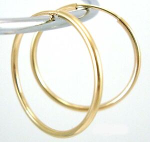 14k-Gold-Filled-Earring-Endless-hoop-Earwire-38mm-Ge15
