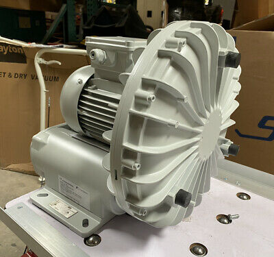 Fuji Electric Vfd6d-h 11 Hp Regenerative Blower 3 Ph 460v 2 12 Fnpt Inlet