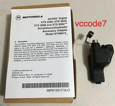 Motorola KVL Adapter Surveillance kit/keyload adaptor XTS5000, XTS3000, XTS2500 - Motorola Surveillance Kit