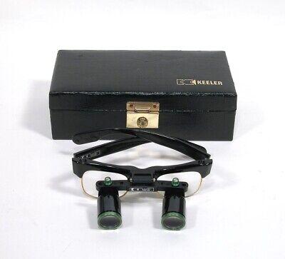 Vintage Keeler Dentalmedical Loupe Glasses Wcase