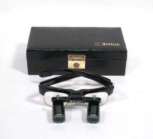 Vintage Keeler Dental/Medical Loupe Glasses W/Case