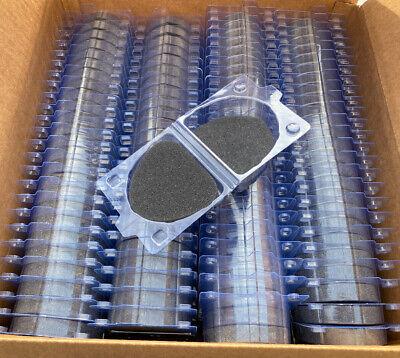 Box Of 100 Model Denture Clear Boxes W Foam New Medium