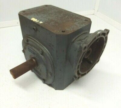 Boston Gear 700 Series F73240b7g Worm-gear Speed Reducer 2288 Lbin Ratio 401