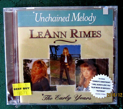 Unchained Melody  The Early Years By Leann Rimes  Cd  Feb 1997  Mcg Curb