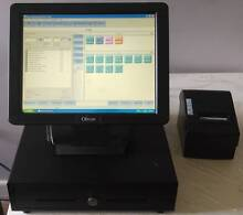 Obvios Touch Point of Sale (POS) w/ restaurant cafe software St Marys Penrith Area Preview