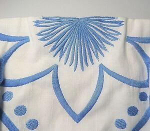 New Lilly Pulitzer BOWEN DRESS White Strapless w/ Blue Embroidery Crosshatch 2