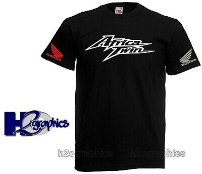 New Mens Honda Africa Twin Tribute T-Shirt Sizes Small to 3XL Choice Of Colours