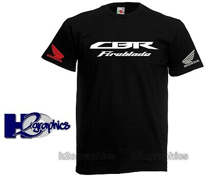 New Mens Honda CBR Fireblade Tribute T-Shirt Sizes S to 3XL Choice Of Colours