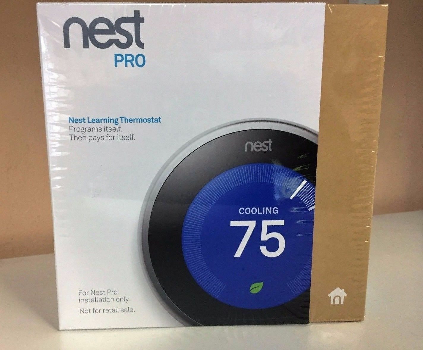 nest 3rd generation learning stainless steel programmable