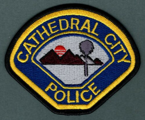 Cathedral City California Police Patch