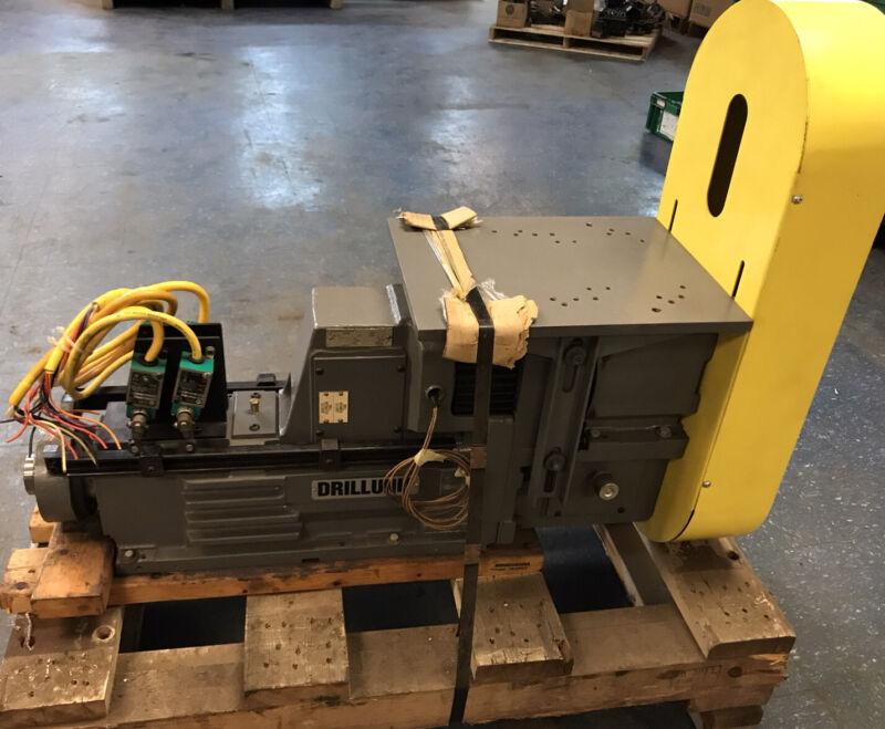 DrillUnit M012A-P Mechanical Quill Unit NOS