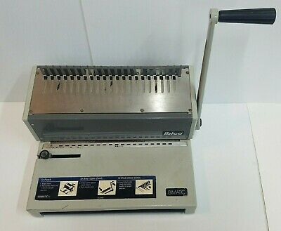 Ibico Ibimatic Gbc Heavy Duty Comb Binding Machine Punch