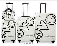 Heys Peace & Love world luggage set Dee Why Manly Area Preview
