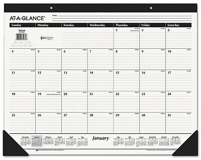 2020 At-a-glance 22 X 17 Monthly Desk Pad Calendar Sk24-00-20