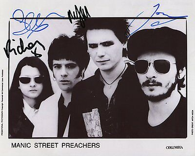 Manic Street Preachers Richey Edwards SIGNED Photo 1st Generation + Ct. PRINT /1