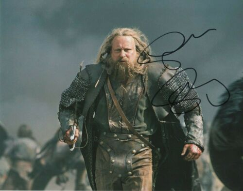 Stellan Skarsgard King Arthur Autographed Signed 8x10 Photo COA 2019-5
