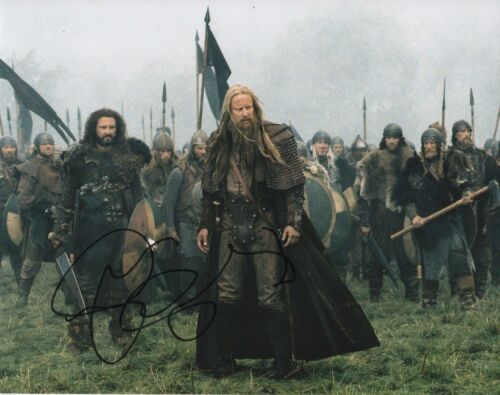 Stellan Skarsgard King Arthur Autographed Signed 8x10 Photo COA 2019-3