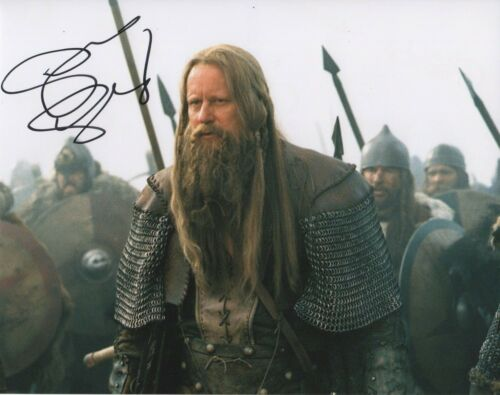 Stellan Skarsgard King Arthur Autographed Signed 8x10 Photo COA 2019-2