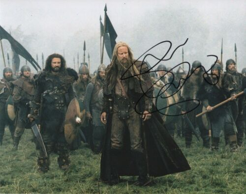 Stellan Skarsgard King Arthur Autographed Signed 8x10 Photo COA 2019-7
