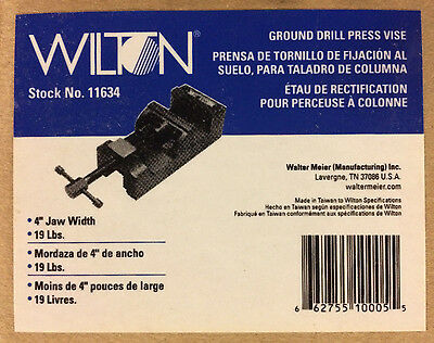 Wilton 11634 4-inch Ground Drill Press Vise