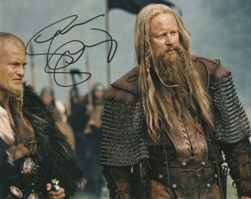 Stellan Skarsgard King Arthur Autographed Signed 8x10 Photo COA 2019-6