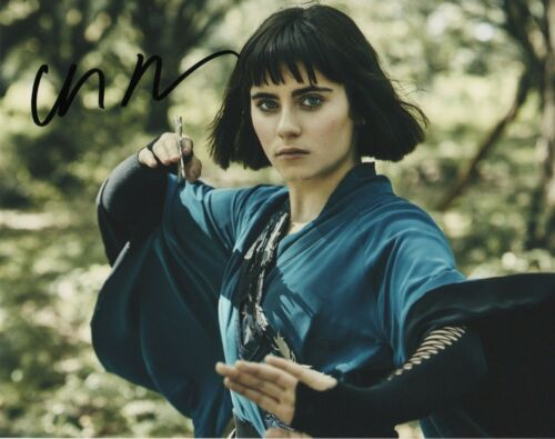 Ally Ioannides Into the Badlands Autographed Signed 8x10 Photo COA 2019-3