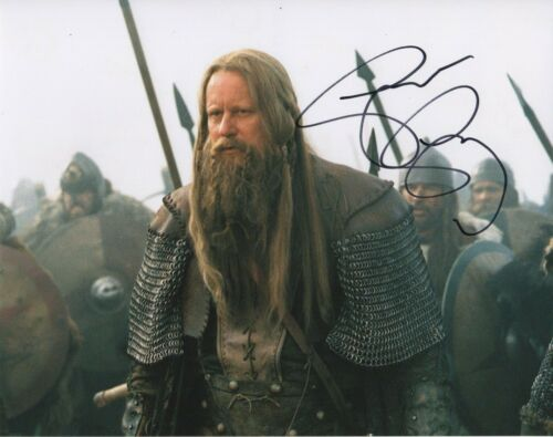 Stellan Skarsgard King Arthur Autographed Signed 8x10 Photo COA 2019-1