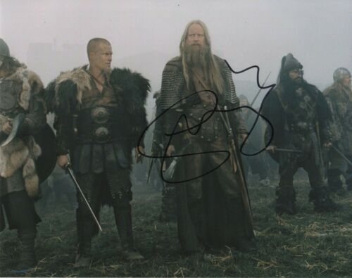 Stellan Skarsgard King Arthur Autographed Signed 8x10 Photo COA 2019-4