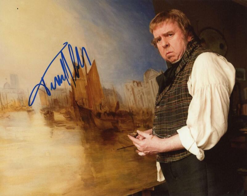 """Timothy Spall """"Mr. Turner"""" AUTOGRAPH Signed 8x10 Photo D"""
