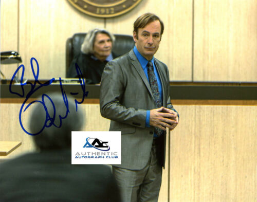 BOB ODENKIRK SAUL GOODMAN BREAKING BAD AUTOGRAPH SIGNED 8X10 PHOTO COA
