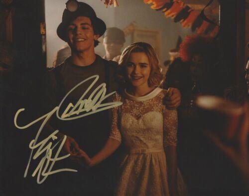 Kiernan Shipka Ross Lynch Chilling Sabrina Autographed Signed 8x10 Photo COA A4