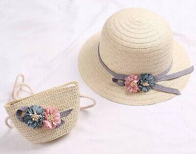 Toddler Straw Hat, Toddler Straw Purse