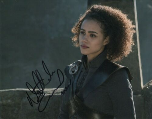Nathalie Emmanuel Game of Thrones Autographed Signed 8x10 Photo COA 2019-4