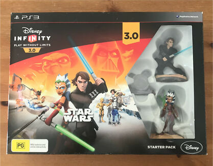 *Brand New* PS3 Disney Infinity 3.0 Star Wars Starter Pack Bella Vista The Hills District Preview