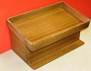 1-12-Empty-Wooden-Counter-Dolls-House-Miniature-Shop-Display-Accessory-DDDD