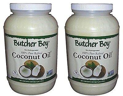 Butcher Boy 76°f 100% Pure Refined Coconut Oil (2x1 Gallon)