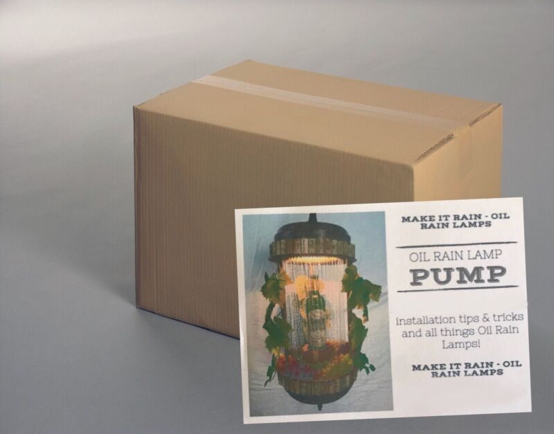 New Replacement Pump For Vintage Oil Rain LampsW/Warranty & Tech Help.