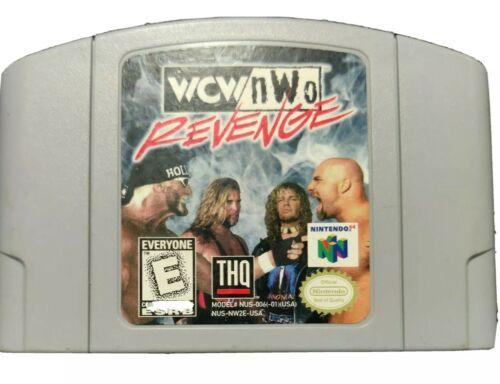 WCW/nWo Revenge Nintendo 64, 1998 N64 Cartridge Only  - $0.99